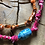 Thumbnail: Collier orange cylindre