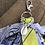 Thumbnail: Porte clefs jaune/lilas/parme