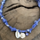 Thumbnail: Collier lilas coquillage oeil violet