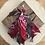 Thumbnail: Porte clefs marron /rouge