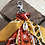 Thumbnail: Porte clefs orange/marron