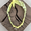 Thumbnail: Collier jaune oeil