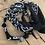 Thumbnail: Bracelet double tour noir homme