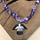 Thumbnail: Collier condor tie and dye violet