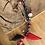 Thumbnail: Cordon/bijoux de téléphone rouge/noir