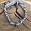 Thumbnail: Bracelet double tour gris homme