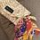 Thumbnail: Porte clef orange/jaune/violet