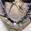 Thumbnail: Collier noir croix nacre