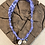 Thumbnail: Collier lilas oeil bleu coquillage