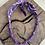 Thumbnail: Collier violet condor piment noir rouge