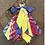 Thumbnail: Porte clefs jaune/lilas/fuschia