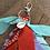 Thumbnail: Porte clefs Aqua/lilas/orange