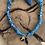 Thumbnail: Collier bleu palmier piment noir