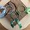 Thumbnail: Joncs ciel/vert clair/vert foncé