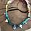 Thumbnail: Collier scarabée rose /jaune/menthe