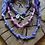 Thumbnail: Collier lila serpent