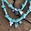 Thumbnail: Collier scarabée croix œil aqua