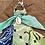 Thumbnail: Porte clefs bleu/anis/aqua