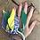Thumbnail: Joncs lilas/ jaune/vert