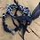 Thumbnail: Bracelet double tour marine homme