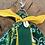 Thumbnail: Porte clefs jaune/vert