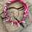Thumbnail: Collier fuschia multi coquillages