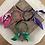 Thumbnail: Joncs vert/ violet /fuschia