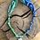 Thumbnail: Collier bleu/vert nacre