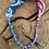 Thumbnail: Collier piment bleu/cyclamen