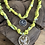 Thumbnail: Collier jaune condor strass
