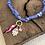 Thumbnail: Collier lilas anneau piment rose