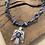 Thumbnail: Collier gris phœnix