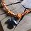 Thumbnail: Collier orange condor hématite
