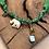 Thumbnail: Collier vert scarabée elephant