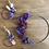 Thumbnail: Couronnes de fleurs violet
