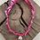 Thumbnail: Collier fuschia croix