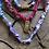 Thumbnail: Collier fuschia serpent