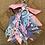 Thumbnail: Porte clefs rosé/ciel/lilas