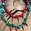 Thumbnail: Collier vert multi piments