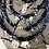 Thumbnail: Collier noir scarabée oeil bleu