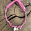 Thumbnail: Collier rose coquillage oeil rose