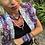 Thumbnail: Collier scarabée medaille œil violet