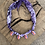 Thumbnail: Collier violet multi coquillages