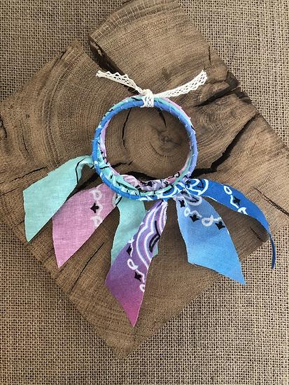 Joncs bleu/violet /bleu/rose /Aqua