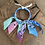 Thumbnail: Joncs bleu/violet /bleu/rose /Aqua