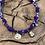 Thumbnail: Collier violet scarabée