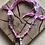 Thumbnail: Collier rose cristaux