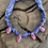 Thumbnail: Collier lilas multi coquillages