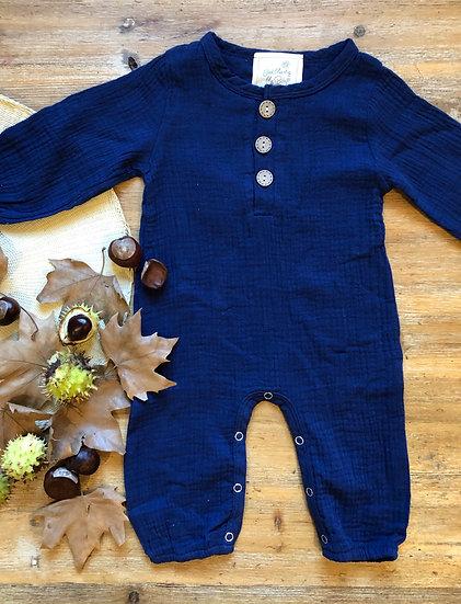 Combinaison Pantalon Bébé Bleu