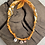 Thumbnail: Collier mandarine coquillage oeil orange